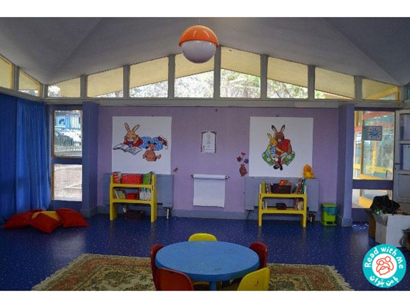 معجزه کتاب خواندن برای نوزادان و نوپایان شیرخوارگاه آمنه