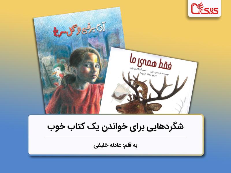شگردهایی برای خواندن یک کتاب خوب، بررسی دو کتاب «فقط همهی ما» و «آدمبرفی و گل سرخ»