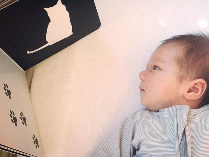 چرا تصویرهای سیاه و سفید برای نوزادان ایدهآل هستند؟