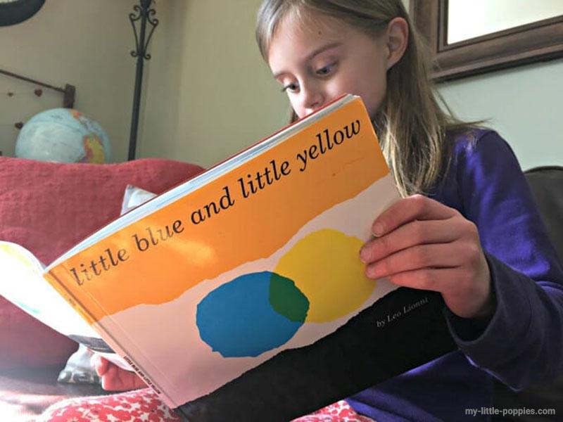 فعالیتی برای کتاب آبی کوچولو زرد کوچولو