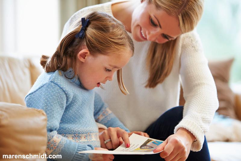 چند نکته برای برطرف کردن مشکلات خواندن کودک