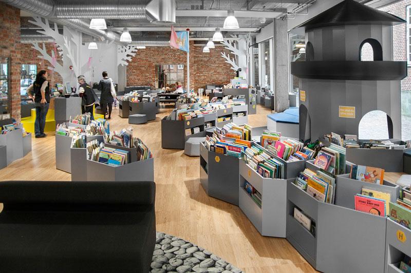 آشنایی با کتابخانه های کودک در دانمارک