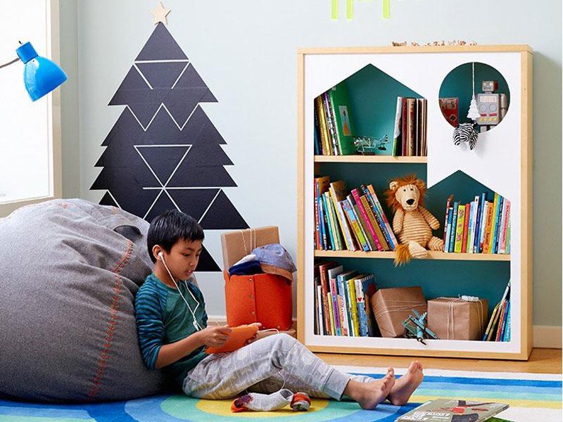 ویژگیهای یک کتابخانه خانگی مناسب برای کودکان