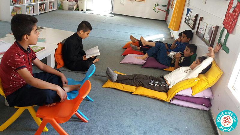تجربه همیار نوجوان کتابخانه جوانرود