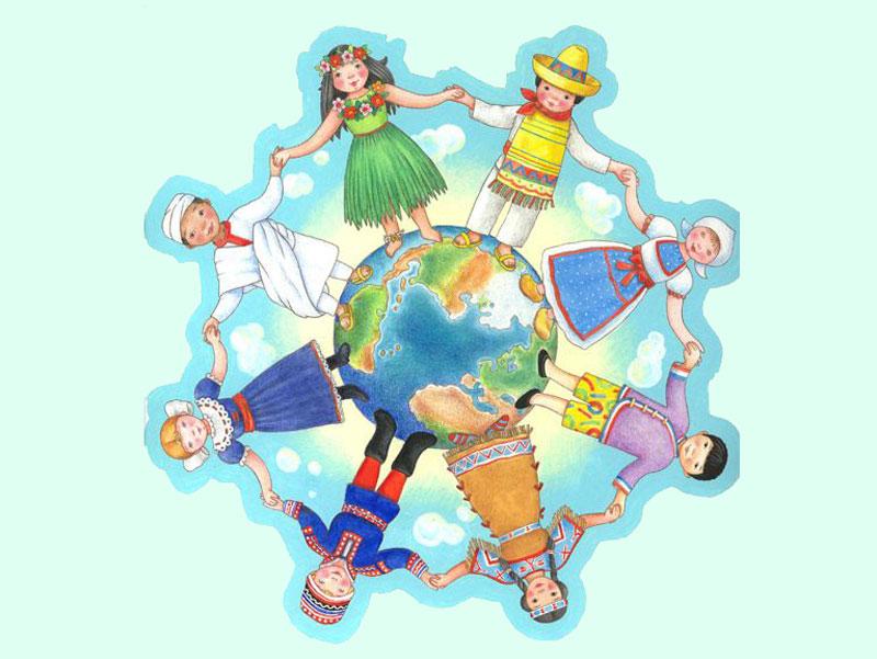 بچه های جهان - محمود کیانوش
