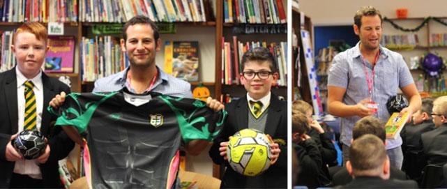 چگونه فوتبال میتواند کودکان را برای کتابخوانی بیشتر تشویق کند؟