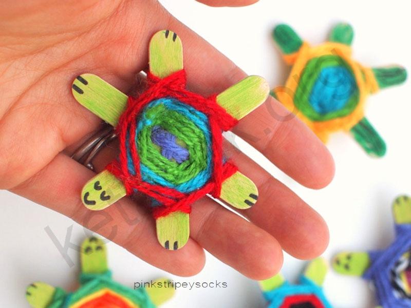 ساخت کاردستی لاکپشت
