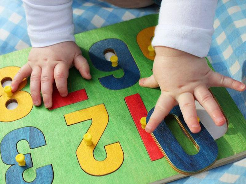 گفتوگوی ریاضی با نوزادان و کودکان نوپا