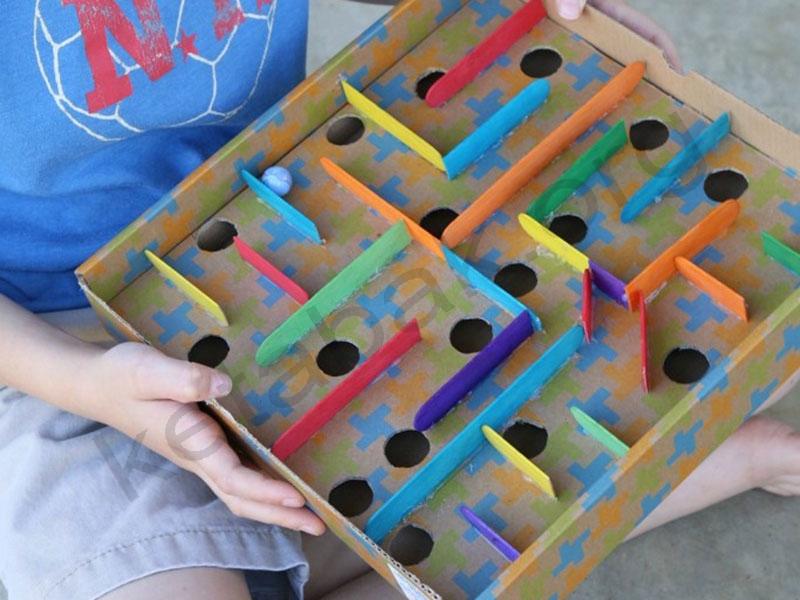 ساخت ماز با جعبه