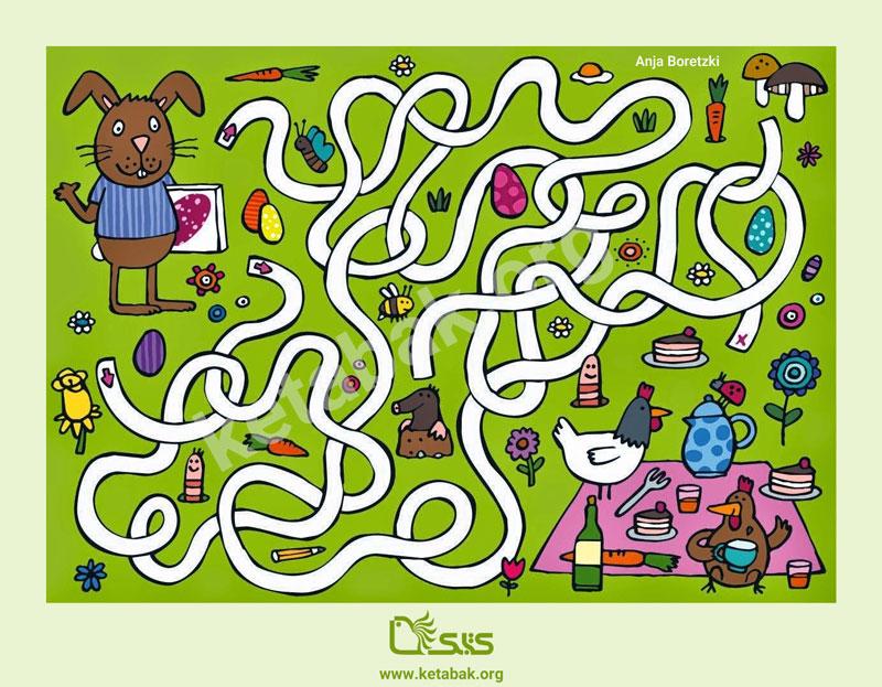 بازی ماز خرگوش کوچولو