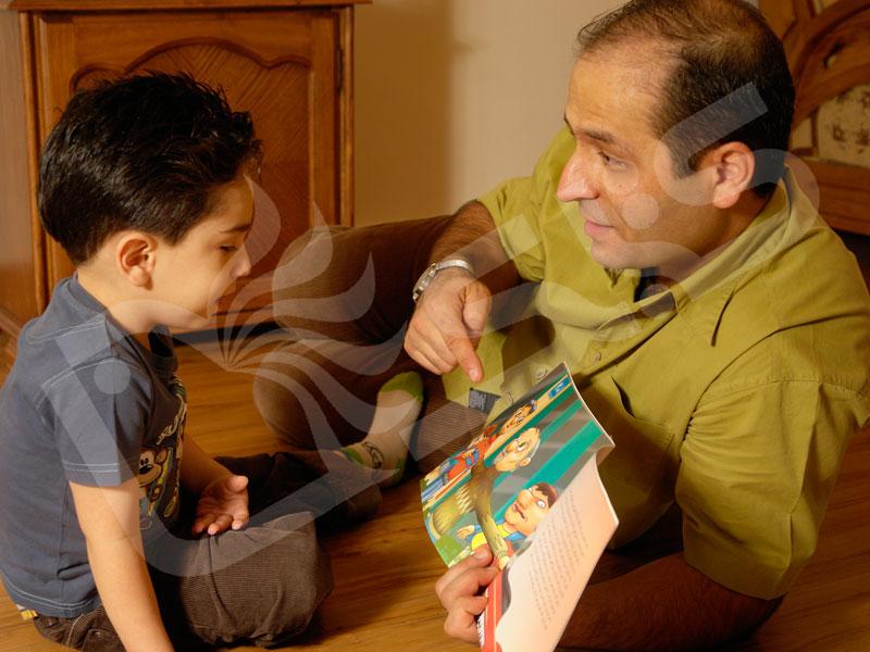 ساختن تصویر ذهنی هنگام بلندخوانی منجر به افزایش درک کودکان از داستان میشود