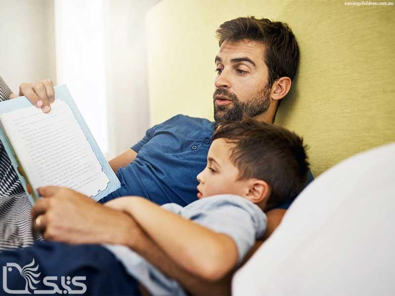 فواید خواندن داستان قبل از خواب برای کودکان