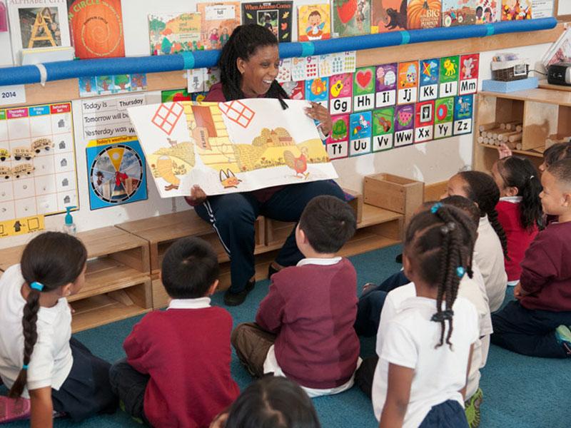 خواندن برای لذت در برنامه روزانه آموزگاران