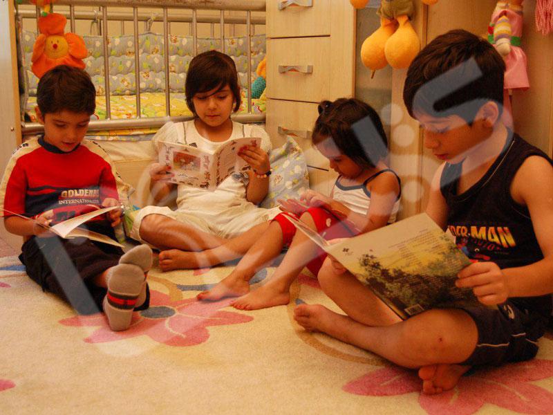 ده توصیه برای تشویق کودکان به کتاب خواندن