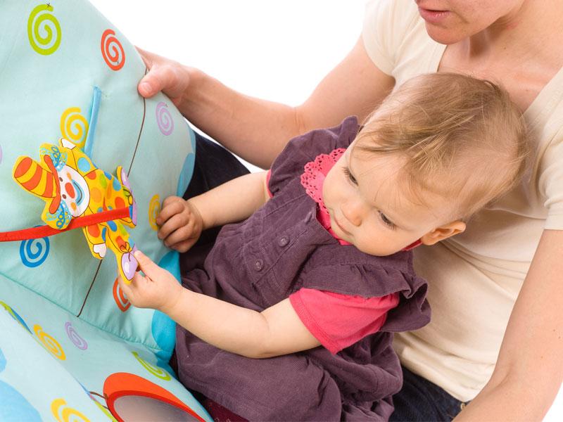 کاوش در کتاب ها با کودکان