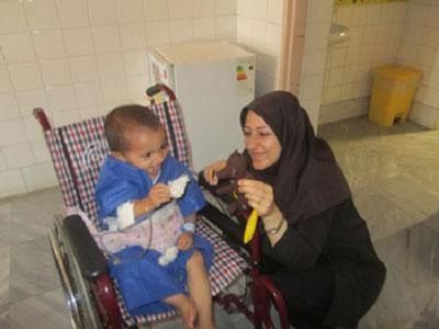 تجربه خواندن با کودکان در بیمارستان کودکان «امام حسین»