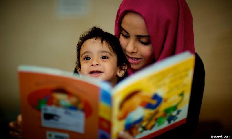 نقش پدر و مادر در کتاب خوان شدن کودک
