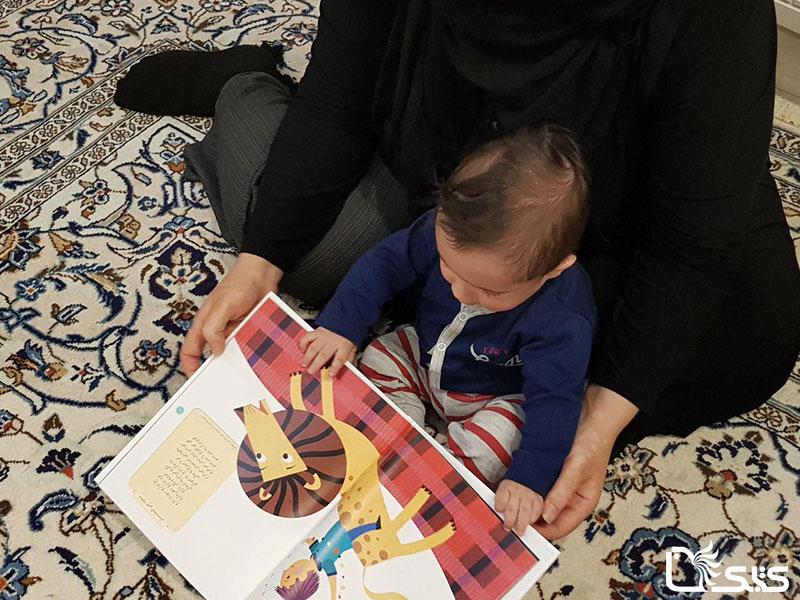 چرا کتاب خواندن برای نوزادان اهمیت دارد