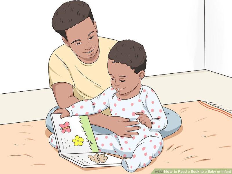 کتابخوانی برای کودکان نوپا و نوزادان چگونه است؟