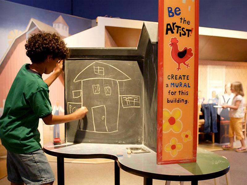 با موزه کودکان استپینگ استون به دنیای هنر قدم بگذارید