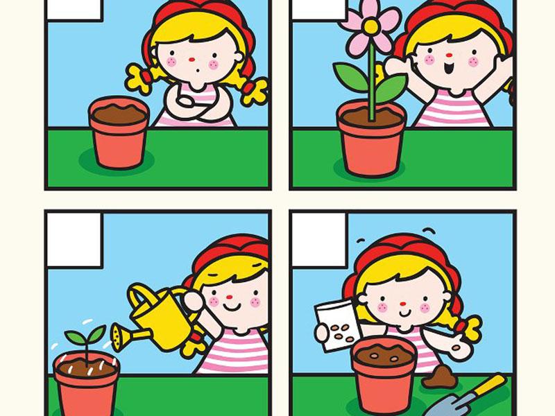 بازی ترتیب و توالی گل کاری