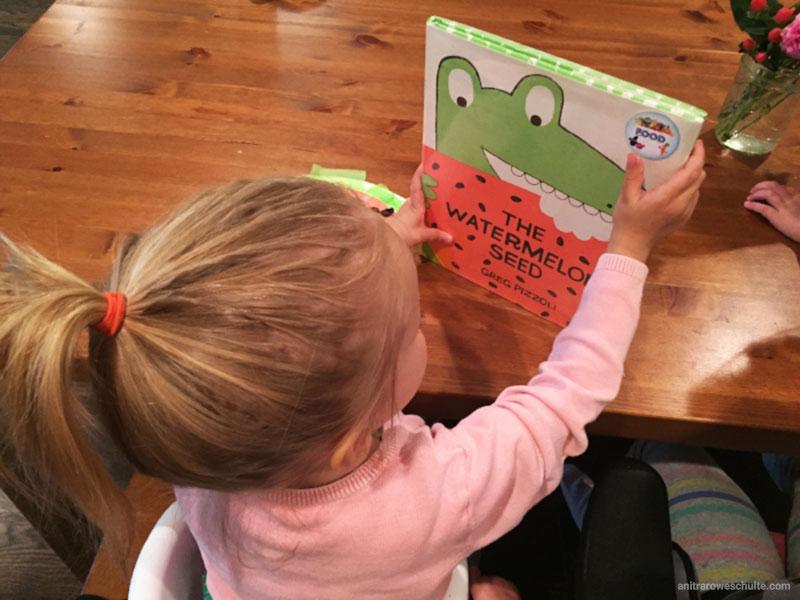 دوزندگی با دانه هندوانه ، فعالیتی برای کتاب هندوانه و تمساح