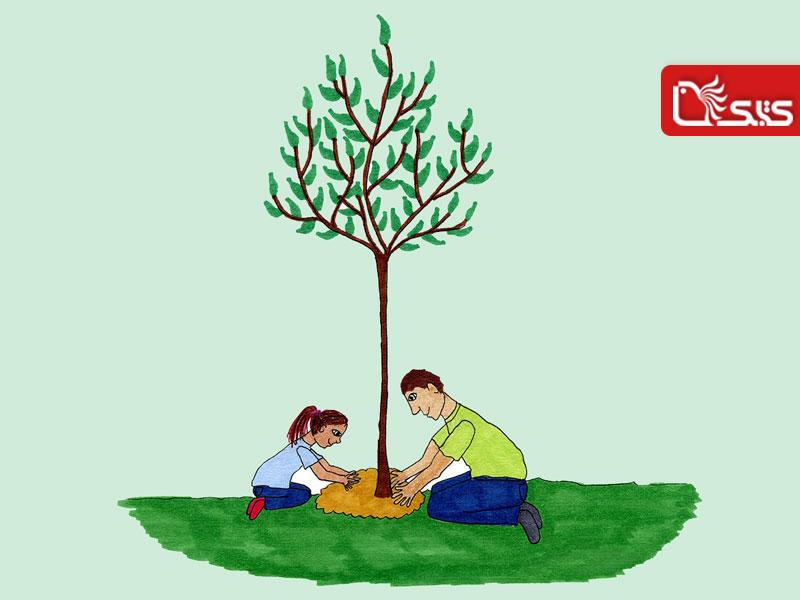 شعر درخت - عباس یمینیشریف