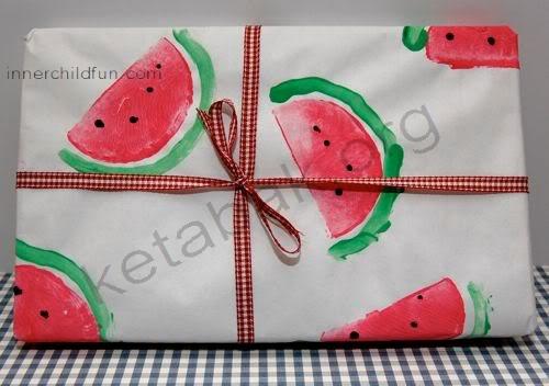 بستهبندی هندوانهای برای شب یلدا