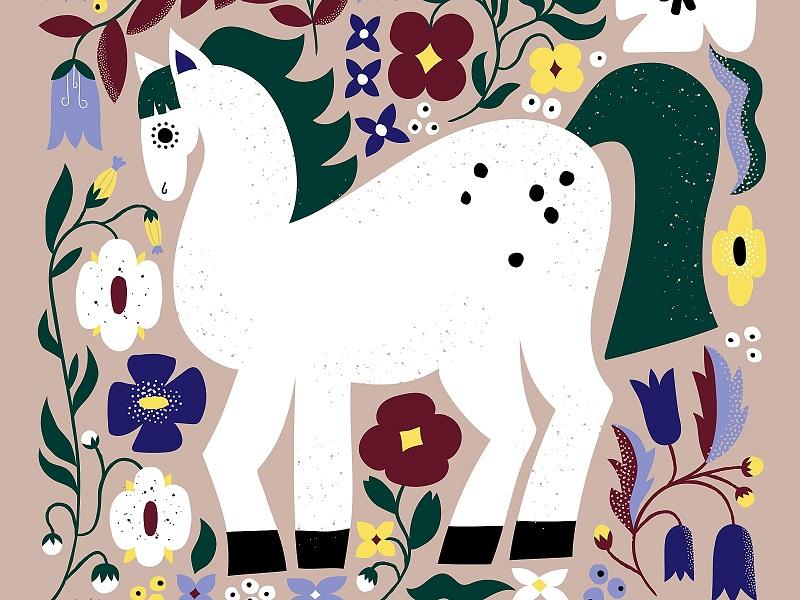 اسب سفید - افسانه شعبان نژاد