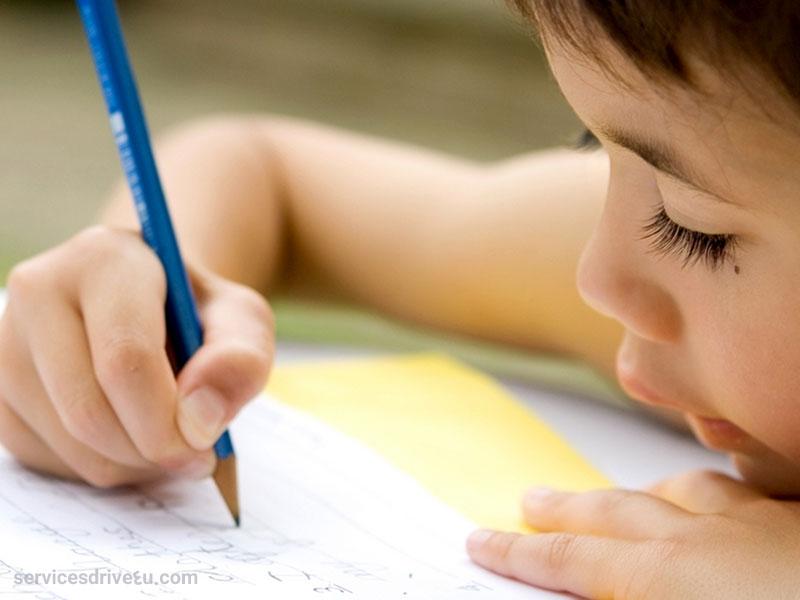 کمک به کودکان برای پرورش مهارت نوشتن