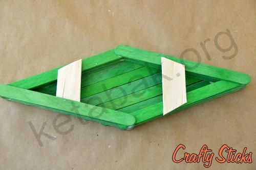 کاردستی با چوب قایق
