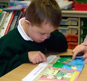 کتابهای مناسب کودکان مبتلا به سندروم داون