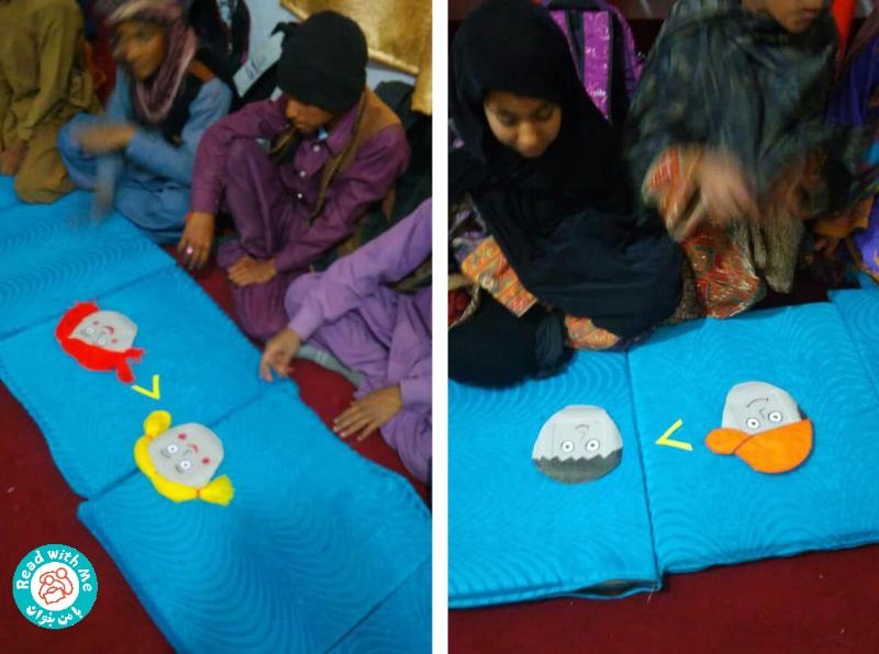 گامهای کودکان بازمانده از تحصیل جهادآباد به سوی سواد و دانایی