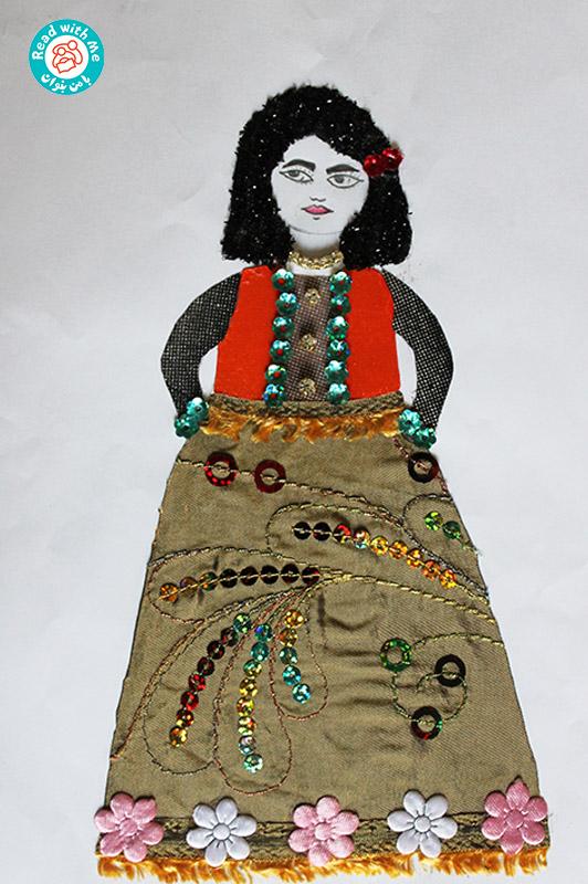 کلاژ با تکه پارچه- فعالیتی خلاقانه در پیوند با کتاب «لباس همیشگی من»