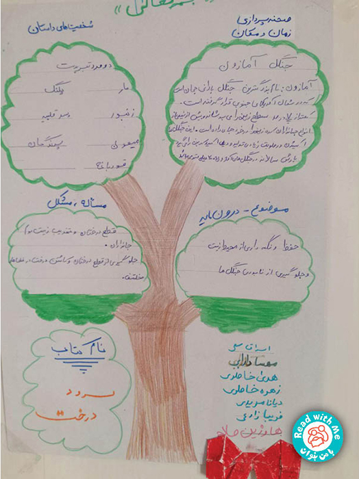 اجرای نمایش کتاب «سرود درخت» در دل طبیعت دالاهو