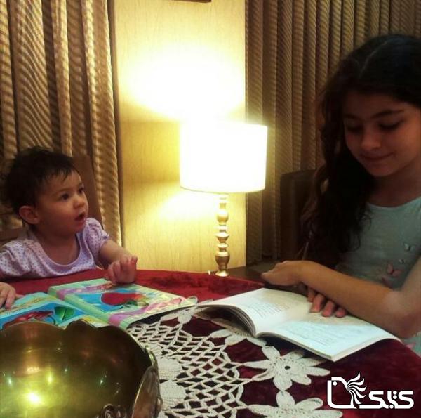 نام کودک: مهرسا و النا