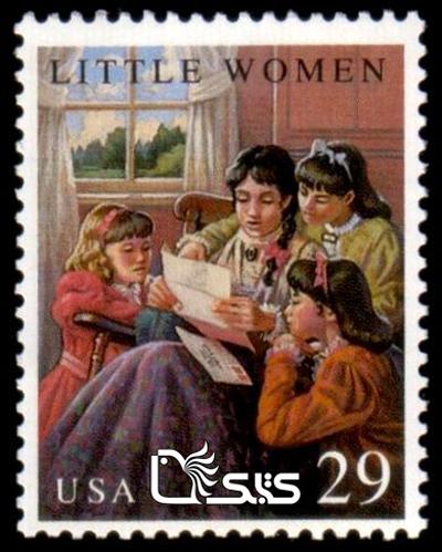 تمبرهای ترویج خواندن - کشور آمریکا