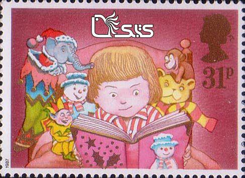 تمبرهای ترویج خواندن - کشور انگلستان