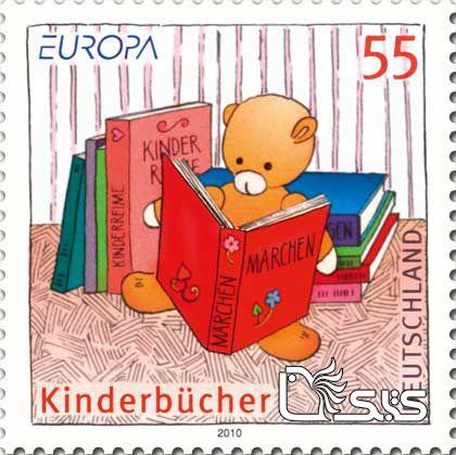 تمبرهای ترویج خواندن - کشور آلمان