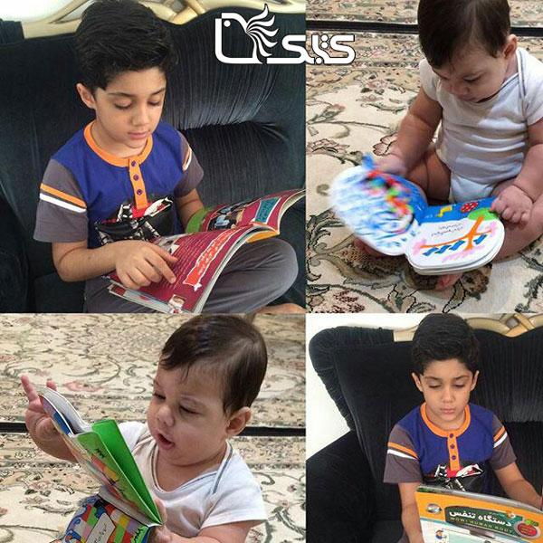 نام کودک: سپنتا و مهرسام پورنصر