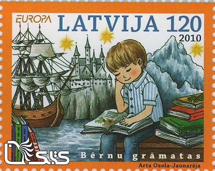 تمبرهای ترویج خواندن - کشور لیتوانی