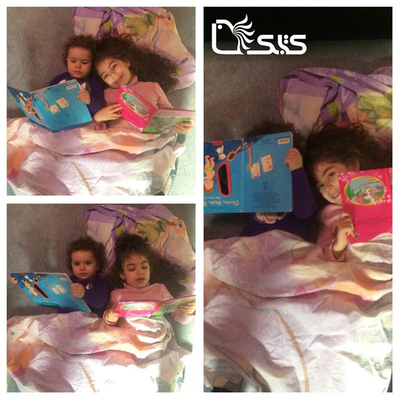 نام کودکان: آوینا و النا