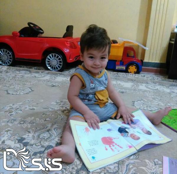 نام کودک: سانیار حسینی