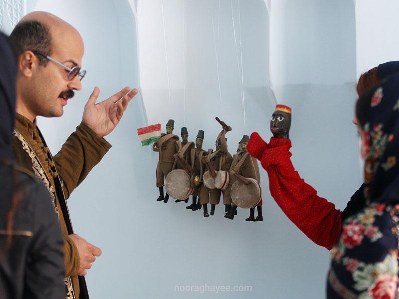 گفت و گو با امیر سهرابی بنیادگذار خانه موزه عروسک و اسباببازی