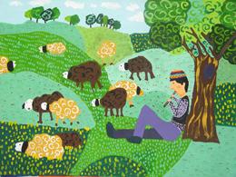 ۱۰ کودک و نوجوان ایرانی موفق در مسابقه ی نقاشی روسیه