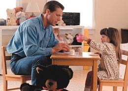 سلامت روانی کودک و رابطه گرم پدر و فرزندی