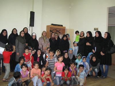 میزبانی بم از دوست داران ادبیات کودک اصفهان