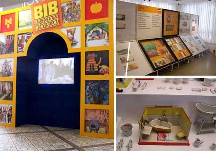 گزارش شرکت در دوسالانه تصویرگری براتیسلاوا در شورای کتاب کودک