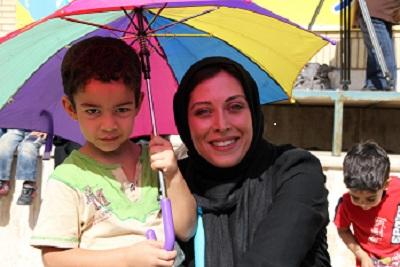 پیام مهتاب کرامتی سفیر حسن نیت یونیسف ایران به مناسبت سال نو