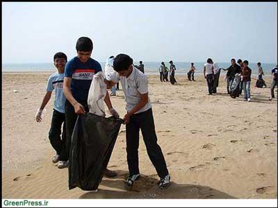 نوجوانان شهر دیر، روز زمین را گرامی داشتند